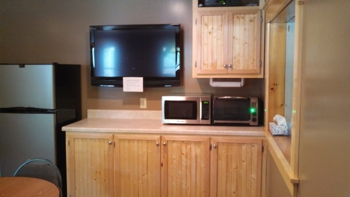 New Pine Interior Cabinets and Trim