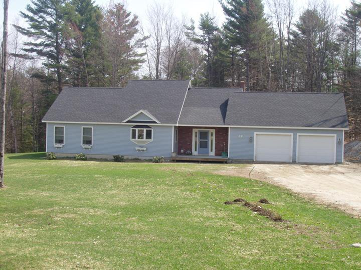 New Construction - Cape with Garage in Durham, Maine